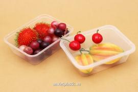 Hộp nhựa đựng trái cây gọt sẵn